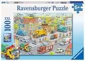 Voertuigen in de stad / Les véhicules de la ville Puzzle;Puzzles enfants - Ravensburger