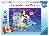 Map of Canada Jigsaw Puzzles;Children s Puzzles - Ravensburger