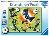 Voetbalkoorts Puzzels;Puzzels voor kinderen - Ravensburger
