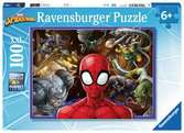 Disney Spiderman 100 dílků 2D Puzzle;Dětské puzzle - Ravensburger