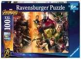 AVENGERS WOJA BEZ GRANIC 100EL Puzzle;Puzzle dla dzieci - Ravensburger