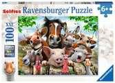 Beestenselfie Puzzels;Puzzels voor kinderen - Ravensburger