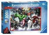 Puzzle 100 p XXL - Les plus grands héros / Marvel Avengers Puzzle;Puzzle enfant - Ravensburger