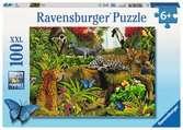 Wild Jungle Puslespil;Puslespil for børn - Ravensburger