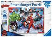 Ravensburger Marvel Avengers - 100 piece Jigsaw Puzzle with Extra Large Pieces for Kids age 6 years and up Puslespil;Puslespil for børn - Ravensburger