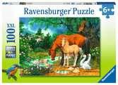Idylle bij de vijver Puzzels;Puzzels voor kinderen - Ravensburger