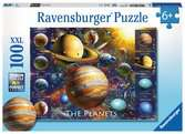 Ravensburger The Planets XXL 100pc Jigsaw Puzzle Puzzles;Children s Puzzles - Ravensburger