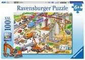 Riesige Baustelle Puzzle;Kinderpuzzle - Ravensburger