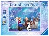 Frozen – IJsmagie / La Reine des neiges - Magie de glace Puzzle;Puzzles enfants - Ravensburger