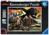 How to Train your Dragon XXL100 Puzzles;Children s Puzzles - Ravensburger