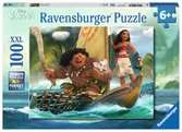 Vaiana en Maui Puzzle;Puzzles enfants - Ravensburger