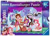 Puzzle 100 p XXL - Un groupe d amies unies / Enchantimals Puzzle;Puzzle enfant - Ravensburger