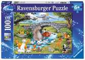 Puzzle 100 p XXL - La famille d Animal Friends / Disney Puzzle;Puzzle enfant - Ravensburger
