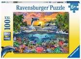 Puzzle 100 p XXL - Paradis tropical Puzzle;Puzzle enfant - Ravensburger