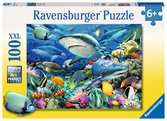 Shark Reef XXL 100pc Puzzles;Children s Puzzles - Ravensburger