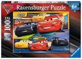 Puzzle 100 p XXL - Duel de champions / Disney Cars 3 Puzzle;Puzzles enfants - Ravensburger
