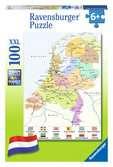Nederland kaart (CITO) Puzzels;Puzzels voor kinderen - Ravensburger