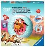 Puzzle 3D rond 72 p - Spirit 3D puzzels;Puzzle 3D Ball - Ravensburger