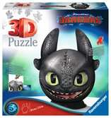 Dragons 3 Toothless 3D puzzels;3D Puzzle Ball - Ravensburger