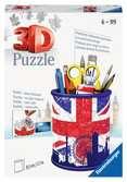 Puzzle 3D Pot à crayons - Union Jack Puzzle 3D;Puzzles 3D Objets à fonction - Ravensburger
