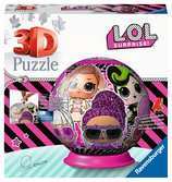 LOL Surprise 3D Puzzle, 72pc 3D Puzzle®;Puslespillballer - Ravensburger