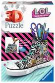 Ravensburger LOL Surprise! - Trainer 108 piece 3D Jigsaw Puzzle for Kids age 8 years and up. An ideal Desk tidy or Pencil pot 3D Puzzle®;Former - Ravensburger