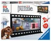 The Secret Life of Pets Filmstrip 3D Puzzles;3D Puzzle Buildings - Ravensburger