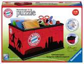 Úložná krabice FC Bayern, 216 dílků 3D Puzzle;Zvláštní tvary - Ravensburger
