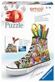 Emoji zapatilla portalápices 3D Puzzle;3D Shaped - Ravensburger