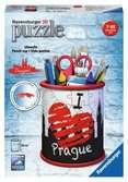 Stojan na tužky I love Prague, 54 dílků 3D Puzzle;Zvláštní tvary - Ravensburger