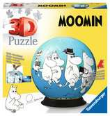 Moomin                    72p 3D Puzzle®;Pusselboll - Ravensburger