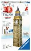 Mini budova - Big Ben - položka 54 dílků 3D Puzzle;Budovy - Ravensburger