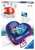 Mermaid, Heart Shaped 3D Puzzle, 54pc 3D Puzzle®;Shaped 3D Puzzle® - Ravensburger