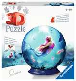 Ravensburger --- Mermaid 72 piece 3D Jigsaw Puzzle Ball for Kids age 6 years and up 3D Puzzle®;Shaped 3D Puzzle® - Ravensburger