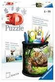 Stojan na tužky Divoká příroda 54 dílků 3D Puzzle;Zvláštní tvary - Ravensburger