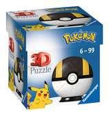 Puzzle-Ball Pokémon Motiv 3 - položka 54 dílků 3D Puzzle;Puzzleball - Ravensburger