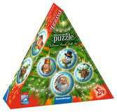 Christmas Ornament 3D Puzzle Balls in Gift Box 3D Puzzles;3D Puzzle Buildings - Ravensburger