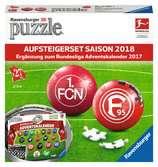 Bundesliga Aufsteigerset Saison 2018 3D Puzzle;3D Puzzle-Ball - Ravensburger