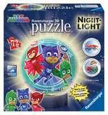 PJ Masks Lamparas Nocturnas 3D 3D Puzzle;3D Lámparas - Ravensburger