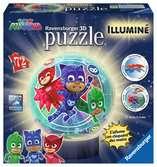 Puzzle 3D rond 72 p illuminé - Pyjamasques Puzzle 3D;Puzzles 3D Ronds - Ravensburger