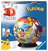 3D rond 72p - Pokémon Puzzle 3D;Puzzle 3D rond - Ravensburger