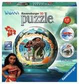 3D rond 72p - Vaiana Puzzle 3D;Puzzle 3D rond - Ravensburger