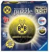 Nachtlicht - Borussia Dortmund 3D Puzzle;3D Puzzle-Ball - Ravensburger