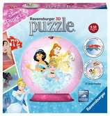 KSIĘŻNICZKI Disney a 3D 72EL Puzzle 3D;Puzzle Kuliste - Ravensburger