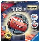 3D rond 72p illuminé - Cars 3 Puzzle 3D;Puzzle 3D rond - Ravensburger