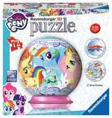 Puzzle 3D rond 72 p - My little Pony 3D puzzels;Puzzle 3D Ball - Ravensburger