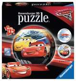Disney Cars 3 3D puzzels;3D Puzzle Ball - Ravensburger