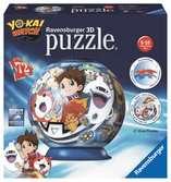 3D rond 72p - Yo-Kai Watch Puzzle 3D;Puzzle 3D rond - Ravensburger