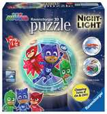 PJ Masks 3D Puzzle with Night Light Stand, 72pc 3D Puzzle®;Character 3D Puzzle® - Ravensburger