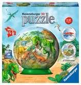 IMPERIUM DINOZAURÓW 3D 72EL Puzzle 3D;Puzzle Kuliste - Ravensburger